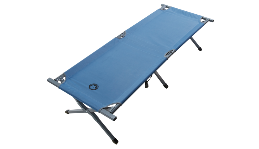 Grand Canyon Alu Camping Bed Extra Strong L blue